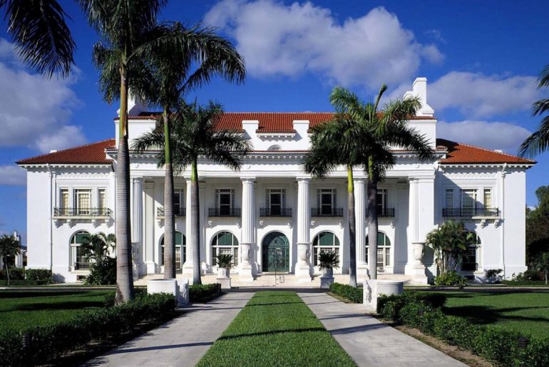 Flagler Museum in Palm Beach