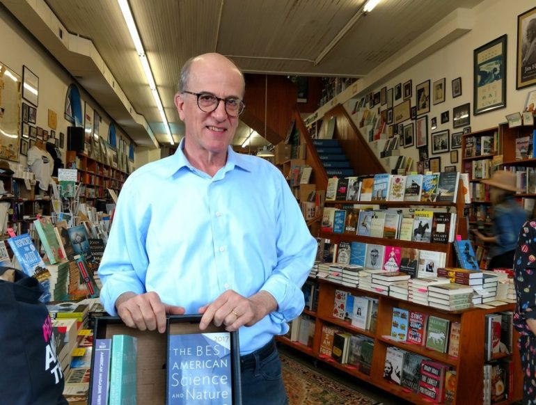 Richard Howard, owner of Square Books in Oxford, Mississippi