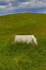 Tub in Field at Duntulm Castle