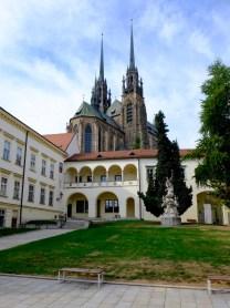 The Bishop's Court - Mendel lived here