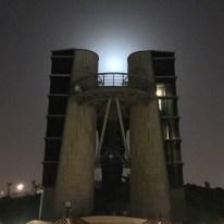 Moon over Herzliyah