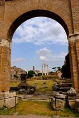 View across Forum