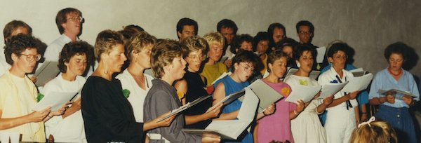 Het koor bestaat 40 jaar!