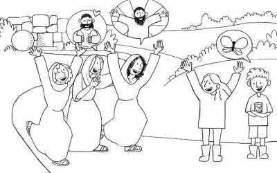 Paasnachtverhaal voor de kinderen