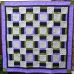 Jean's Quilt - the request was to not do too much quilting on it....
