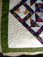 Tessa's BIG Quilt - close up