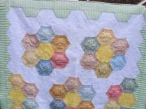 Hexagons close up 1