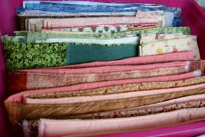 Strips for bags ready to join