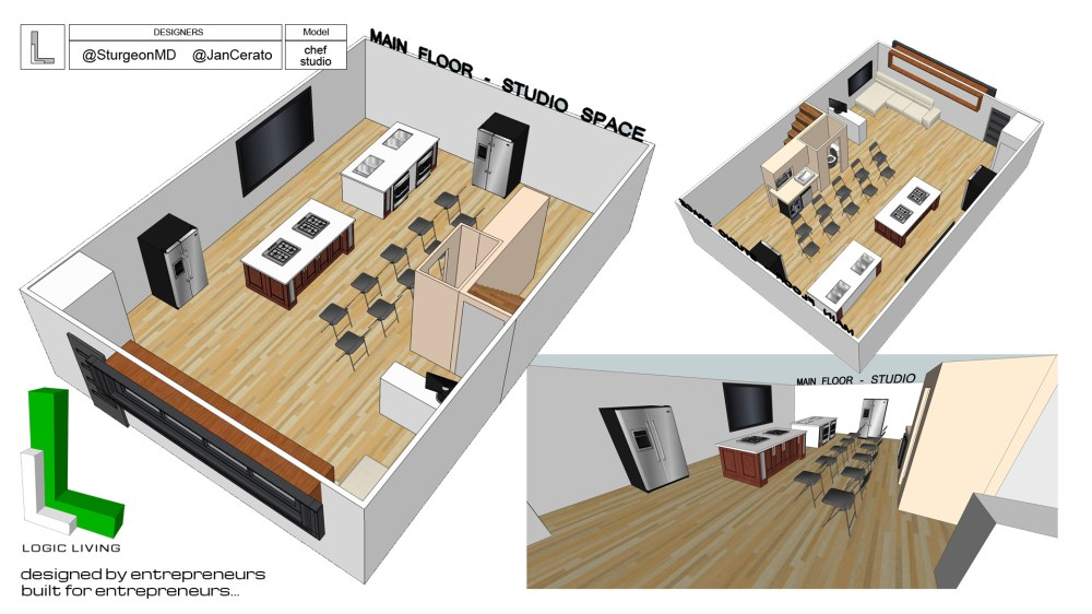 medium resolution of jan cerato creates a chef home studio 4 level 3500sqft condo yyc