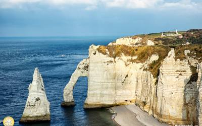 Frankrijk, Etretat, Normandië