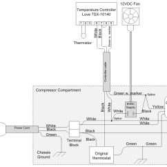 Typical Wiring Diagram Walk In Cooler Mazda Bt 50 Converting The Frigidaire 7 2 Cu Ft Chest Freezer Page