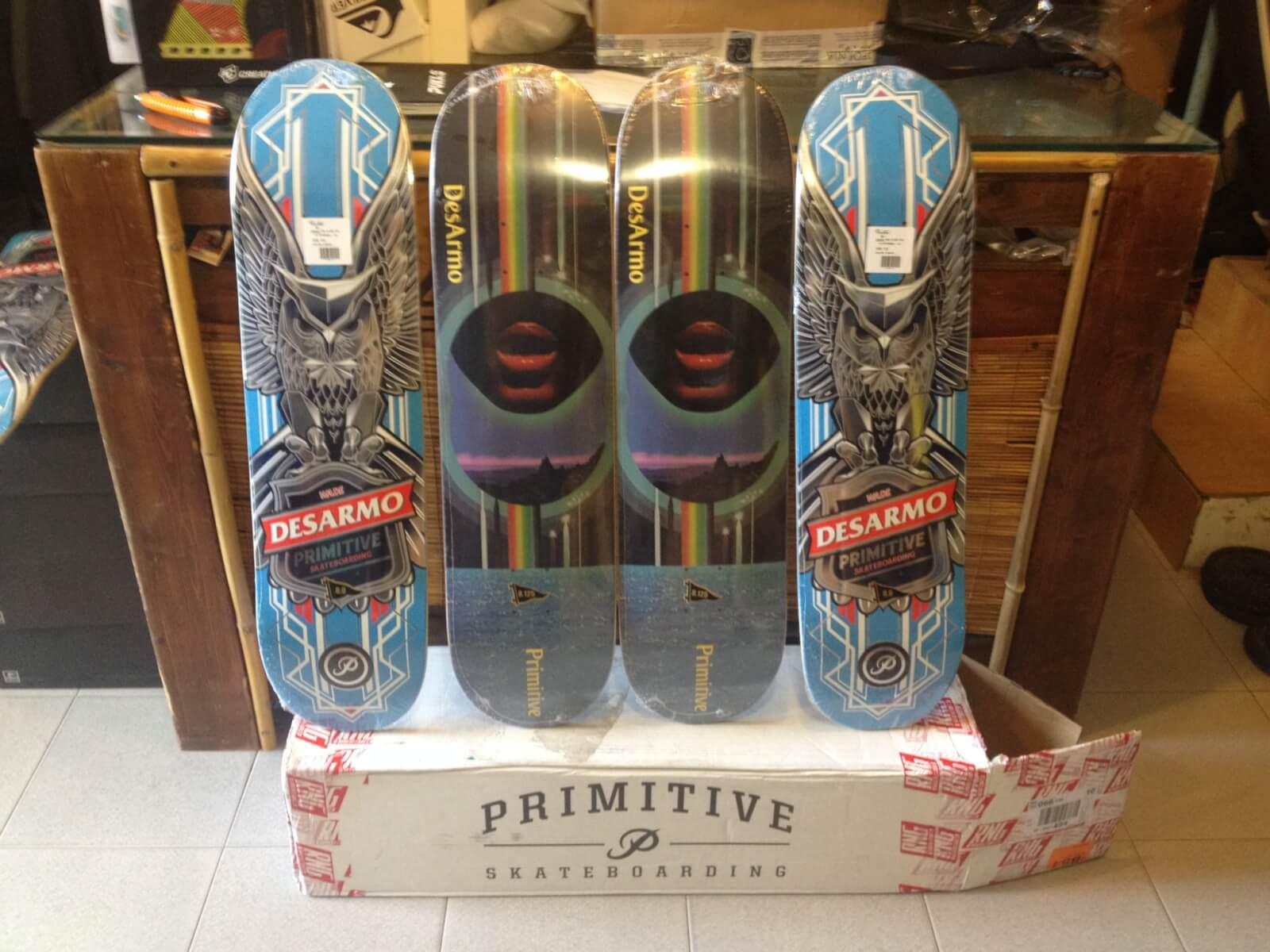 Primitive Skateboards