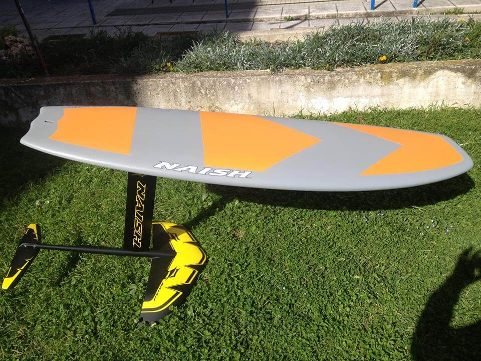 "Naish Surfboard Hover 5'6"" Soft Top + Foil"