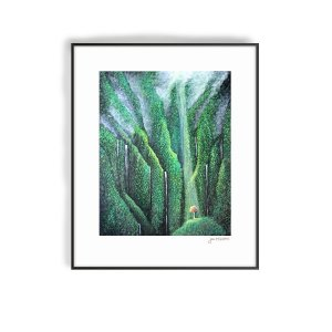 Thriving in the Valley art print by Jan Tetsutani