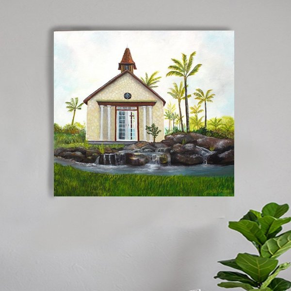 Ko Olina Chapel Painting