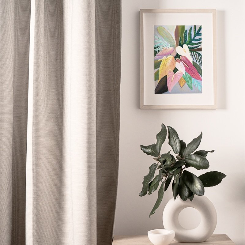 Tropical house decor wall art by Jan Tetsutani