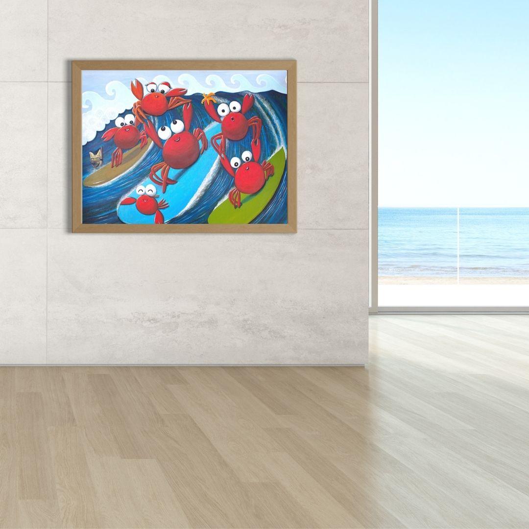 Beach house decor wall art