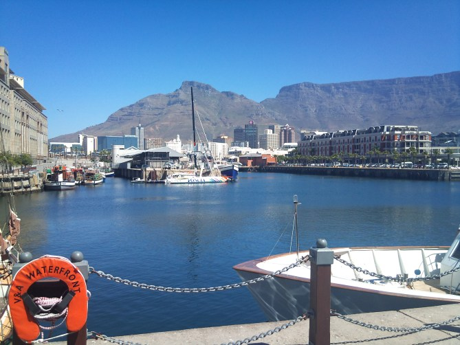 waterfront Kaapstad Zuid-Afrika