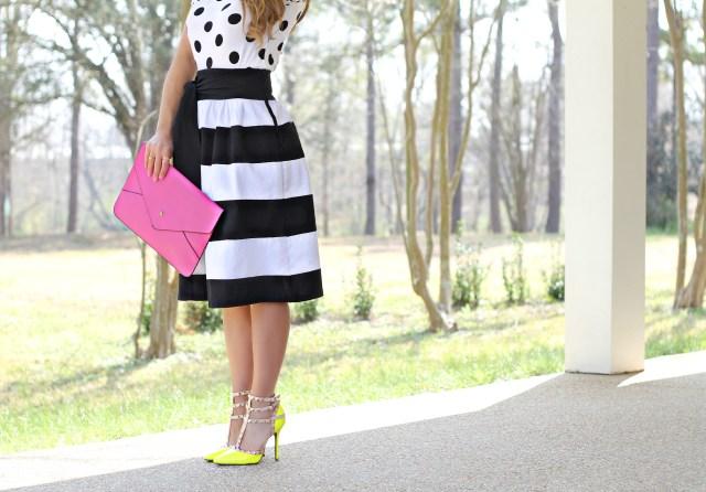 bold stripes skirt 6
