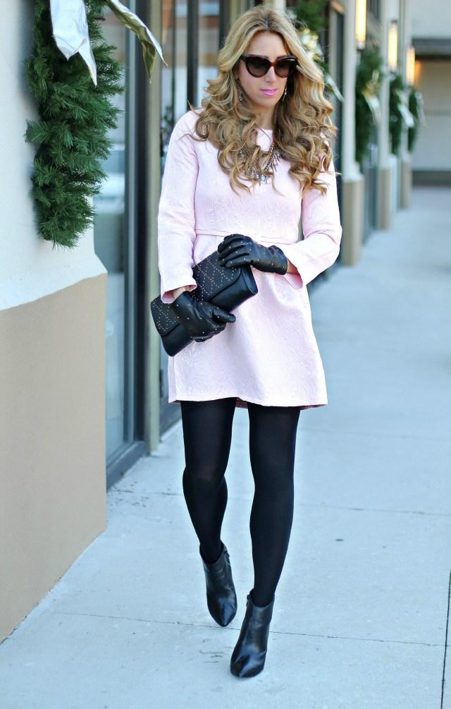 chicwish blush dress 6