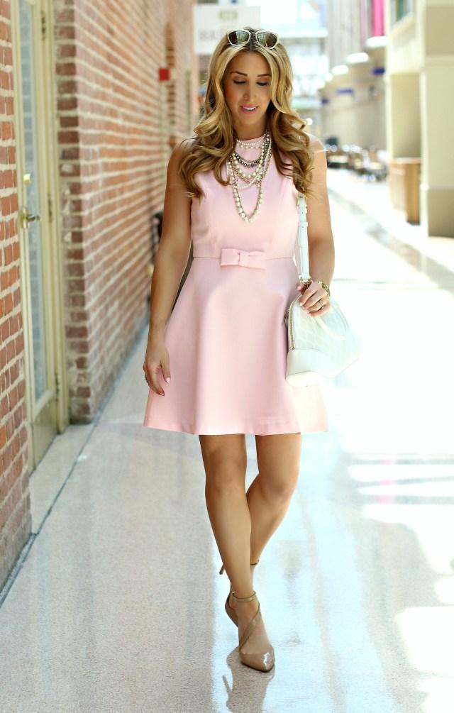 chicwish blush dress 3