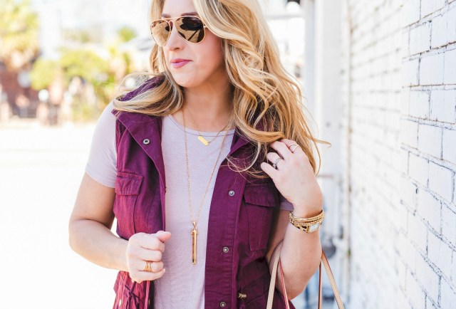Stella and Dot Rebel Pendent Necklace