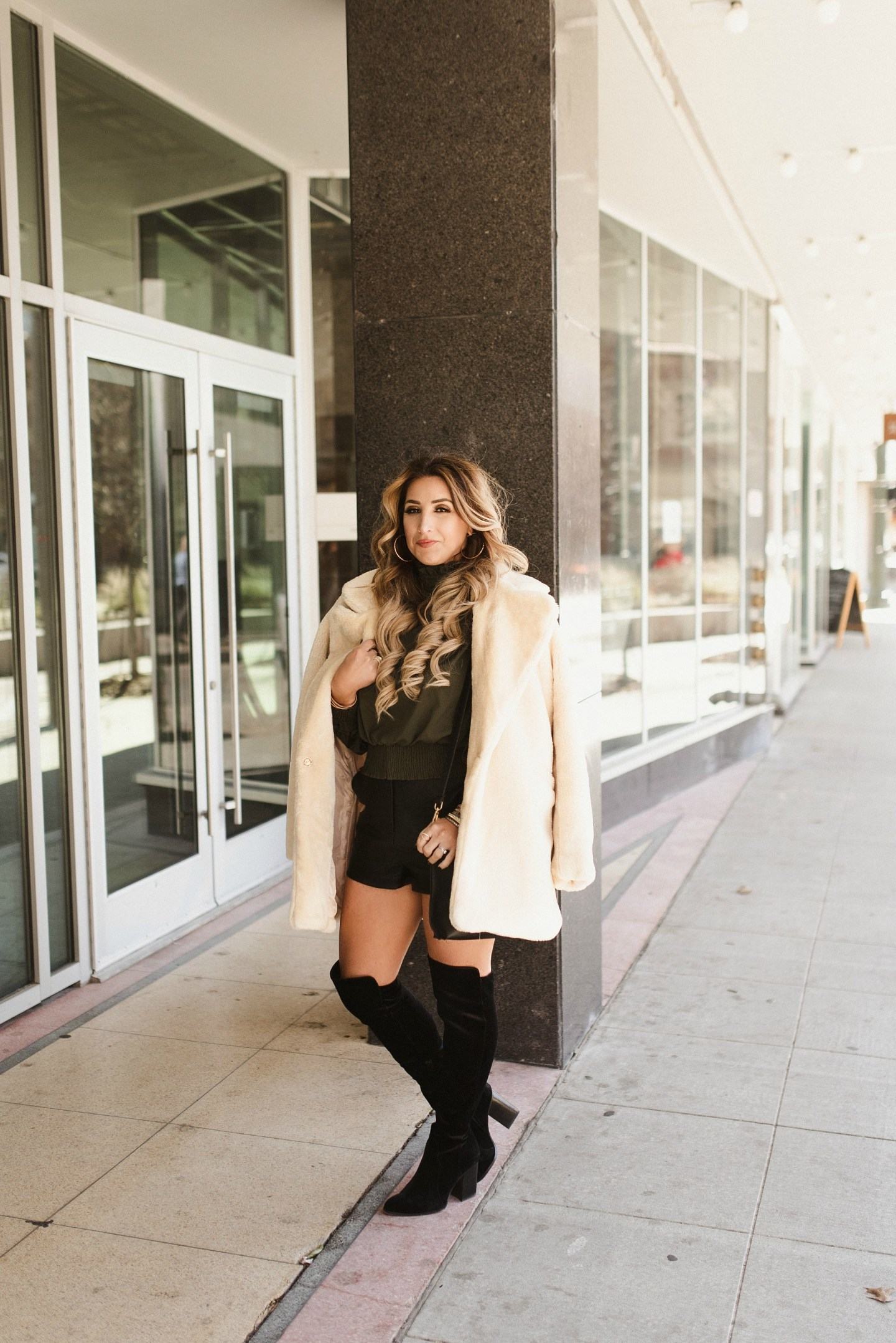 winter to spring transition outfit ideas