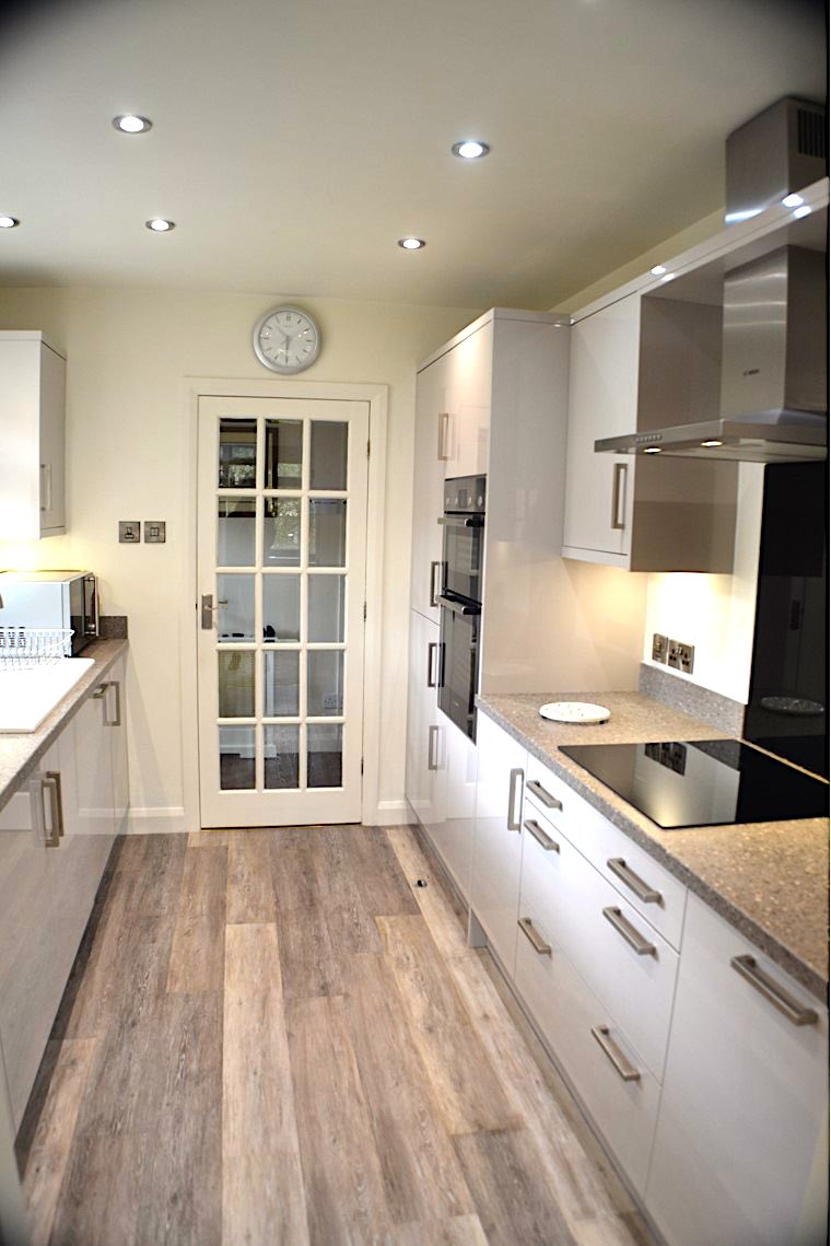 Galley Kitchen Eldwick Janus Interiors Bingley