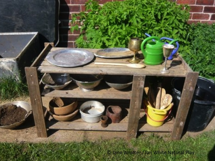 Make A Mud Kitchen For Mud Day New Guidance Published Today Jan White Natural Play
