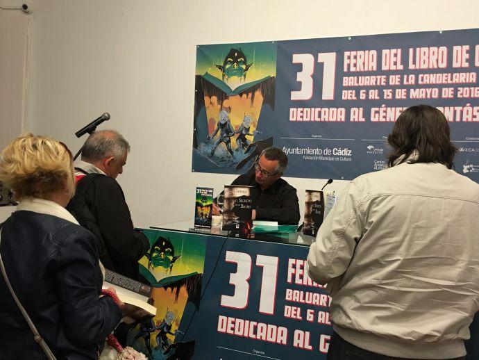 Firma de EL SECRETO DE LOS BALBO en Cádiz