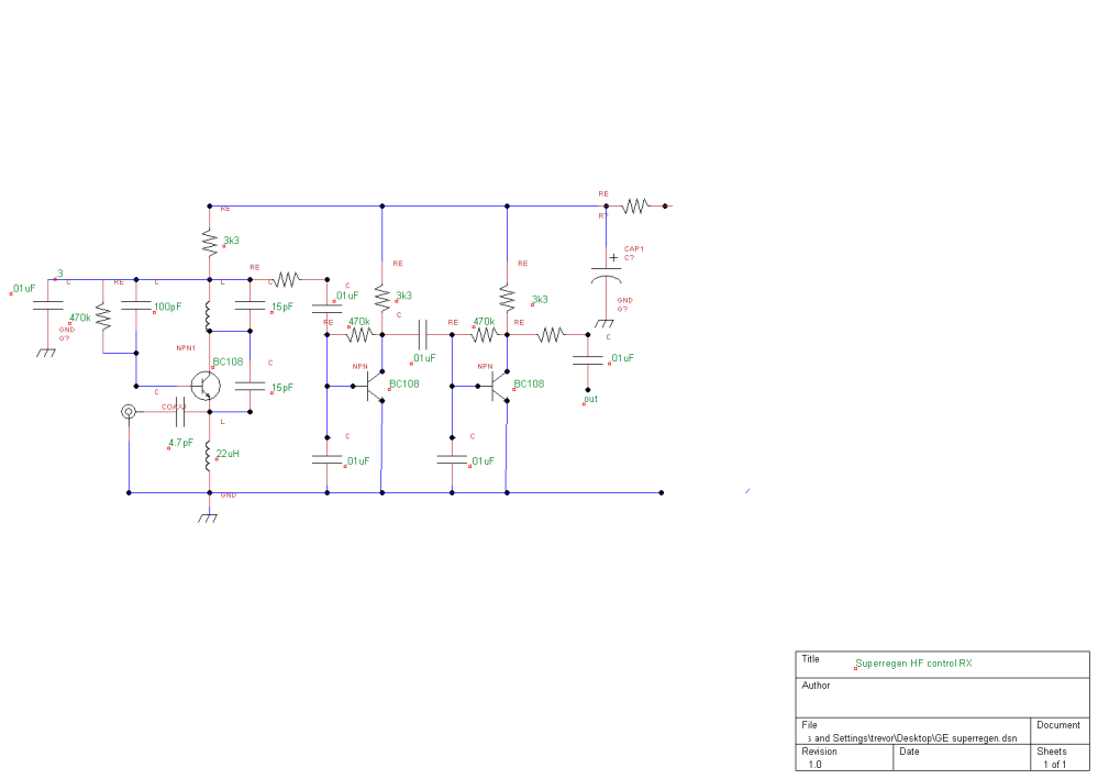medium resolution of circuit diagram for superregenerative receiver built by ge labs