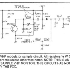 Fpv Transmitter Wiring Diagram Single Phase Meter Panel Video Related Circuit Schematics Diagrams Including Simple Vhf Modulator Not Fcc Approved