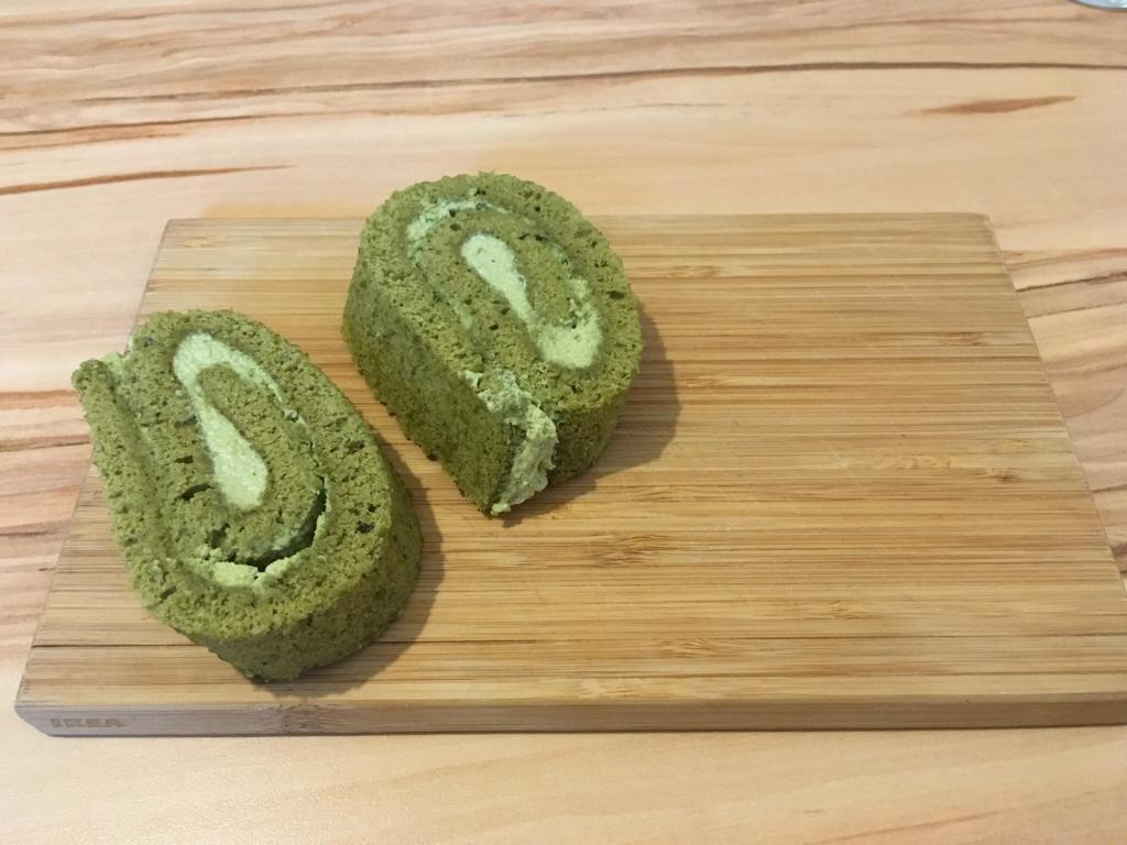 Rezept Matcha Biskuitrolle Japanischer Matcha Kuchen Japacake