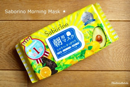 Image of Saborino morning mask