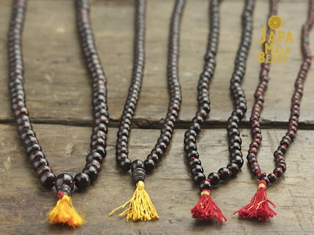 Rosewood Necklace Mala Beads