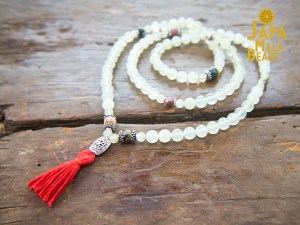 Serpentine and Ocean Jasper Necklace Mala