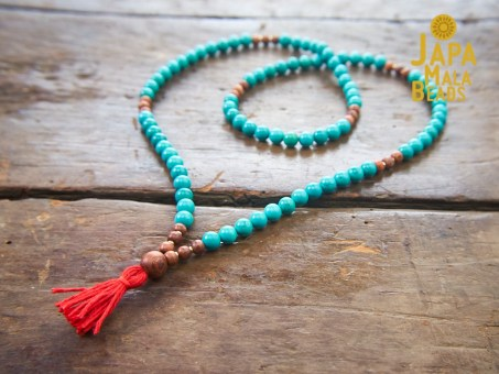 Turquoise 108 mala beads
