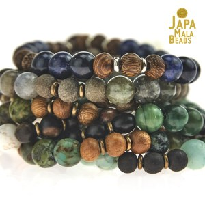 gemstone mantra beads