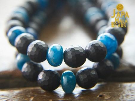 Onyx Bracelet Mala Beads