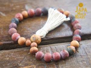 Cherry Creek Jasper Bracelet Mala