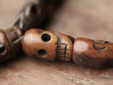 Kali Skull Bone Mala