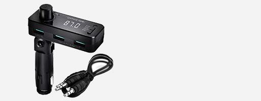 JA998 JAPAN AVE. FMトランスミッター Bluetooth 5.0