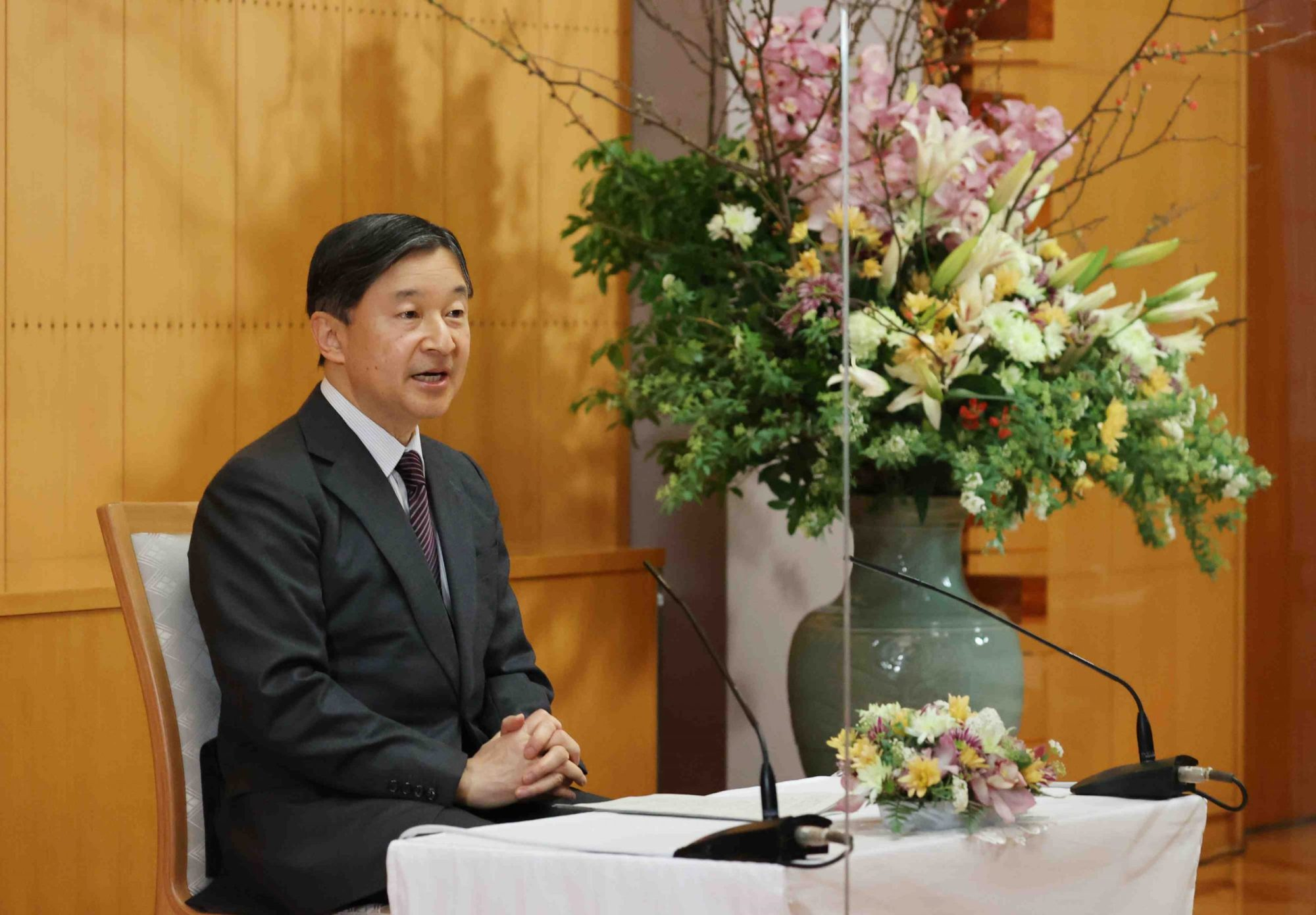 hight resolution of We Will Overcome': Emperor Naruhito's Message of Hope on His 61st Birthday    JAPAN Forward