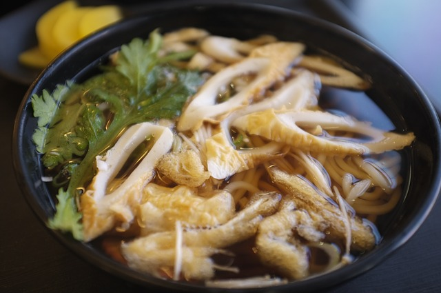 """Famous food souvenir in Nagoya """"Kishimen noodles"""""""
