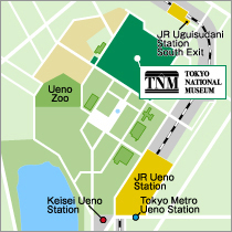 tokyo museum map