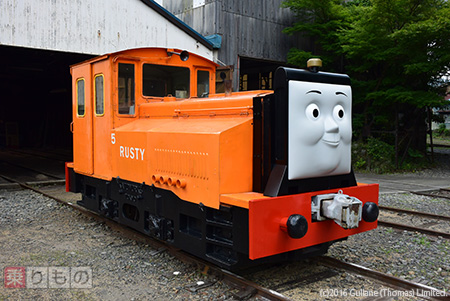 'Rusty' will be coming! Oigawa Railway also holds 'Thomas Fair in 2016' which is an annual popular event