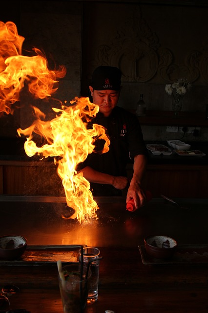 Monjya-yaki is a local special dish in Tokyo