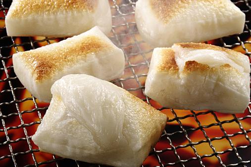 toasted rice cake