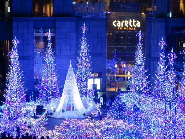 Recommended Christmas Lights selections in Tokyo