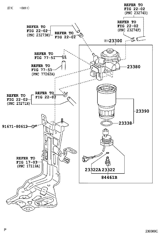 hight resolution of rav4 fuel filter